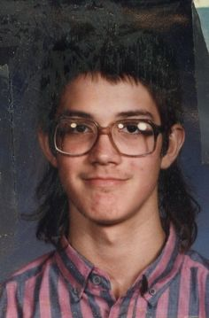 Glasses not withstanding, this is a class act mullet.