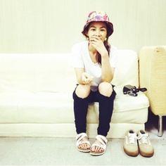 korean bucket hat kang hye jung #fashion