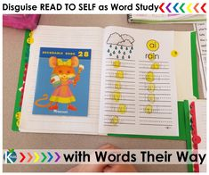 Why not take your Word Work one step further? I have disguised Read to Self as a bit more… Word Work… and my firsties don't seem to mind. Read to Self Word Study Assignments In addition to […] First Grade Phonics, First Grade Activities, First Grade Classroom, Back To School Activities, Phonics Reading, Phonics Activities, Guided Reading, Word Work Games, Read To Self