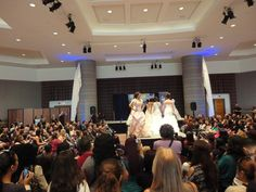 Dancing Down the Aisle Fashion Show at Premier Bridal Shows' Bride Expo - Long Beach Convention Center.