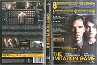 The imitation game [Vídeo] = Descifrando Enigma / dirigida por Morten Tyldum Q Cine 4382