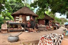 Abuja Art Craft Village is a wonderful places where visitors can see and buy some of Nigeria's arts and crafts that represent the country's culture. The art shops are thatch-roofed huts with walls made from red earth (clay). Travel Abuja with Travelbeeps Contact us: 0207 096 2085 beeps@travelbeeps.com