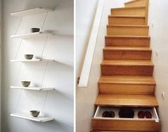 Don't you think these step drawers are the best idea!!