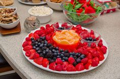 elmo birthday party foods - Google Search