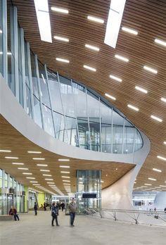 Station Arnhem Centraal, Arnhem, Gelderland The Netherlands, by UNStudio & Arup & Bureau B+B.