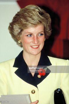 Diana, Princess of Wales, in 1988 ca.