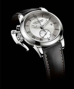 The 42-mm case of the Graham 1695 Chronofighter Erotic series — five models featuring five different erotic scenes — is made of 925 silver, a watch-world rarity; there is also a series in 18k rose gold cases. The titillating illustrations on the casebacks are hand-engraved by local artisans in La Chaux-de-Fonds, Switzerland, where Graham also makes its watches.