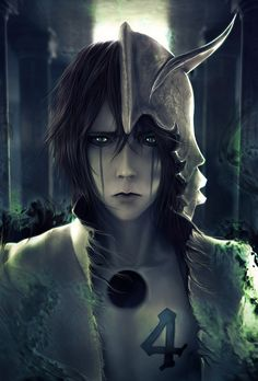Awesome realistic wallpaper of Ulquiorra.