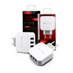 Earldom 3 USB Ports 5V 3.4A 21W EU Charger Adapter For Cell Phone Tablet Camera  | eBay