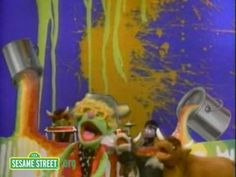 wet paint and the Muppets (2:15)