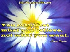 You manifest what you believe... #belief #manifesting #abundance4me