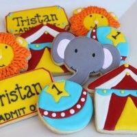 Circus Cookies-Auntie Bea's Bakery