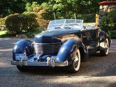 1937 Cord 812 SC Phaeton Cord Automobile, Automobile Companies, Auburn Automobile, Retro Cars, Vintage Cars, My Dream Car, Dream Cars, Auburn Car, Cord Car