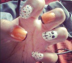 Diseño de Halloween. #MisUñas