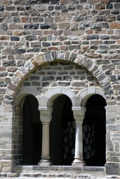 Romanesque arch