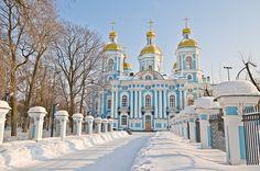Catedral de St. Nicholas em St Petersburg