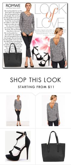 """""""ROMWE 1"""" by woman-1979 ❤ liked on Polyvore featuring Vince"""