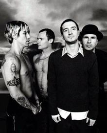 Art Red Hot Chilli Peppers rock-stars