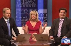 SNL Thursday Edition Mocks Fox & Friends For Sugarcoating Romney Gaffes ~ Saturday Night Live aired a special edition of Weekend Update tonight, opening with a spoof of the cable morning show Fox & Friends. SO funny, gotta watch the video. http://www.mediaite.com/tv/snl-mocks-fox-friends-for-romneys-comments-and-on-air-corrections/