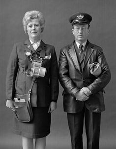 Busconductress and Postman, London (1977) Evelyn Hofer