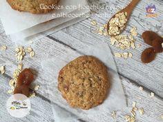 Cookies con fiocchi d'avena e albicocche secche - ricetta biscotti Biscotti, Cereal, Cookies, Breakfast, Desserts, Recipes, Food, Breakfast Cafe, Tailgate Desserts