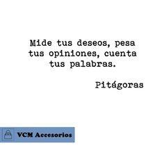 Frase de Pitágoras