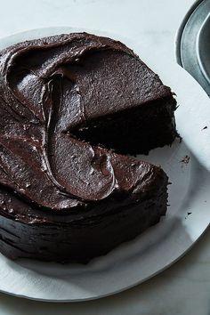 Sweet Desserts, Just Desserts, Sweet Recipes, Delicious Desserts, Cake Recipes, Dessert Recipes, Yummy Food, Perfect Chocolate Cake, Cake Chocolate