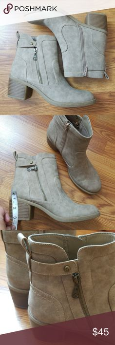 Guess Tan Booties NEW Size 8.5 ( It s more like a 9 ) No flaws No 6d602e2656fe
