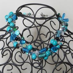 Tangled Glory Necklace - Turquoise - French Pear Gifts
