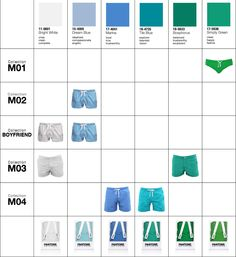 If It's Hip, It's Here: Pantone Speedos? Yep. And Trunks and Shorts, Too. New Pantone Beachwear.