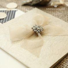 Allure wedding invitation www.bohemiandreams.co.uk