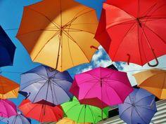 Colorful Umbrellas (20 pieces)