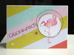 I really want a flamingo die ....Sommerlich