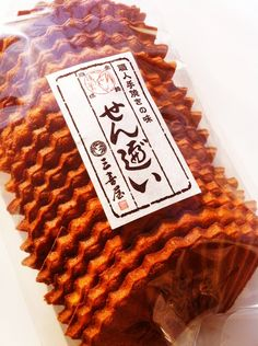 Senbei 煎餅( Japanese sweets )  MIKIYA Inc.
