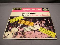 Mantovani and His Orchestra Song Hits Recorded in London Vintage Vinyl Record | eBay