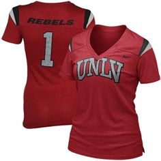 Nike UNLV Rebels Ladies Replica Premium T-Shirt - Scarlet