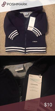 Brand New Gymboree Hoodie size 3-6 months Brand new navy blue hoodie 3-6 months. Beautiful! Gymboree Shirts & Tops Sweatshirts & Hoodies