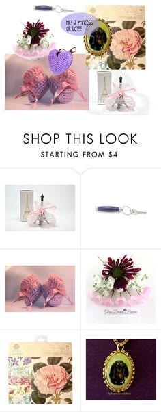 """""""Me? a princess"""" by shelikesthis ❤ liked on Polyvore featuring interior, interiors, interior design, home, home decor, interior decorating, Anna Griffin, jewellery, integrityTT and EtsySpecialT"""