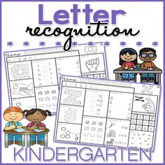 This NO PREP Letter Recognition worksheet packet is great for early finishers, assessing taught skills, morning work, and homework. These worksheets are fun and engaging, as well as stimulating as they feature TEN different activities. This Letter Recognition worksheet packet includes: • 26 x Letter