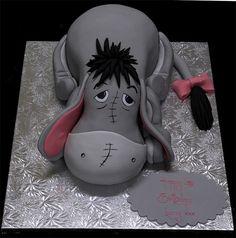 Eeyore cake @Michelle Tan