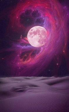 Siga o insta @ritualunar para mais imagens como essa ❥ link:  https://instagram.com/ritualunar)  lua - moon - céu - sky - galáxia - galaxy - nebulosa - universo - universe - cosmic - cósmico - galactic - galático - astrologia - astrology - lockscreen - wallpaper - papel de parede - full cheia - espaço space - pink rosa
