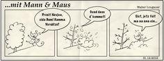 Mann und Maus starten mit neuem Layout und einem neuen Abenteuer ins Jahr 2013. Na dann Prosit...
