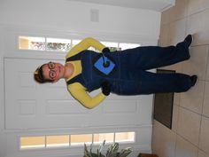 My DIY Minion costume for Halloween