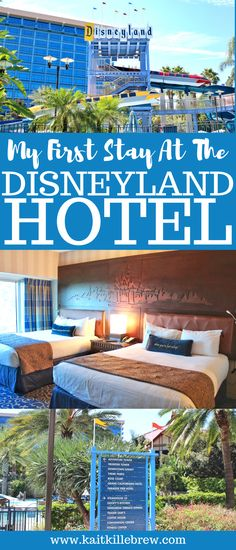 Staying at the Disneyland Hotel was a dream come true for Nick and I! I'm sharing my experience of staying near the Happiest Place on Earth! Disneyland Hotel, Disneyland Tips, Downtown Disney, Disney Tips, Disney World Resorts, Disney Vacations, Walt Disney World, Disney Hotels, Disney Land