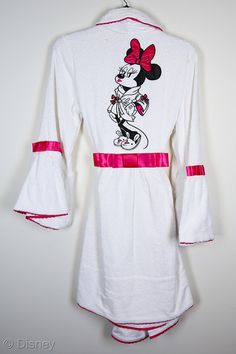 Minnie Mouse Betsey Johnson Couture Terry Robe