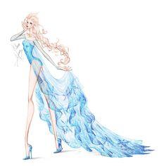 Collection Chiffon Elsa 2 by frozen-winter-prince on deviantART