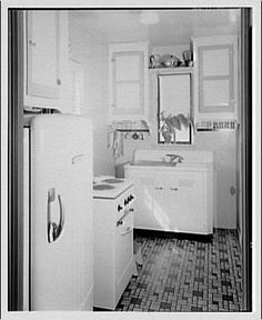 1920 Kitchen...Potomac Electric Power Co. apartments and kitchens. Kitchen III