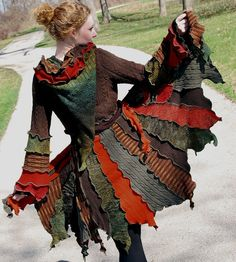 up cycled sweaters