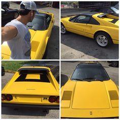 #CostantinoVitagliano Costantino Vitagliano: #Ferrari #308gts #ferrari308gts #FF #storia #yellow #car #luxurycar