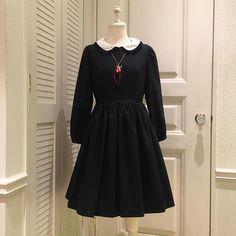 ♡NEW ARRIVAL♡ Little blackワンピース ¥27,600+tax  トウシューズネックレスのレッドとブラックが1点ずつ再入荷しました♡ 人気商品ですので、お早めにご来店、お電話ください。
